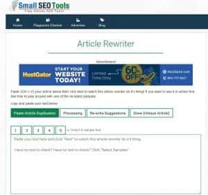 Article Rewriter