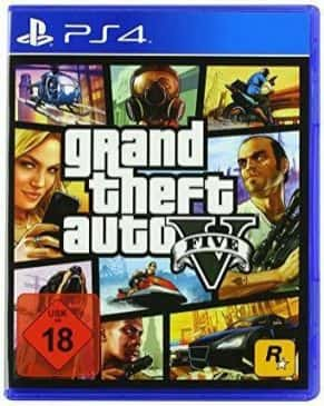 Grand Theft Auto V ps4 game