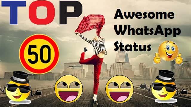 awesome status rochaksite